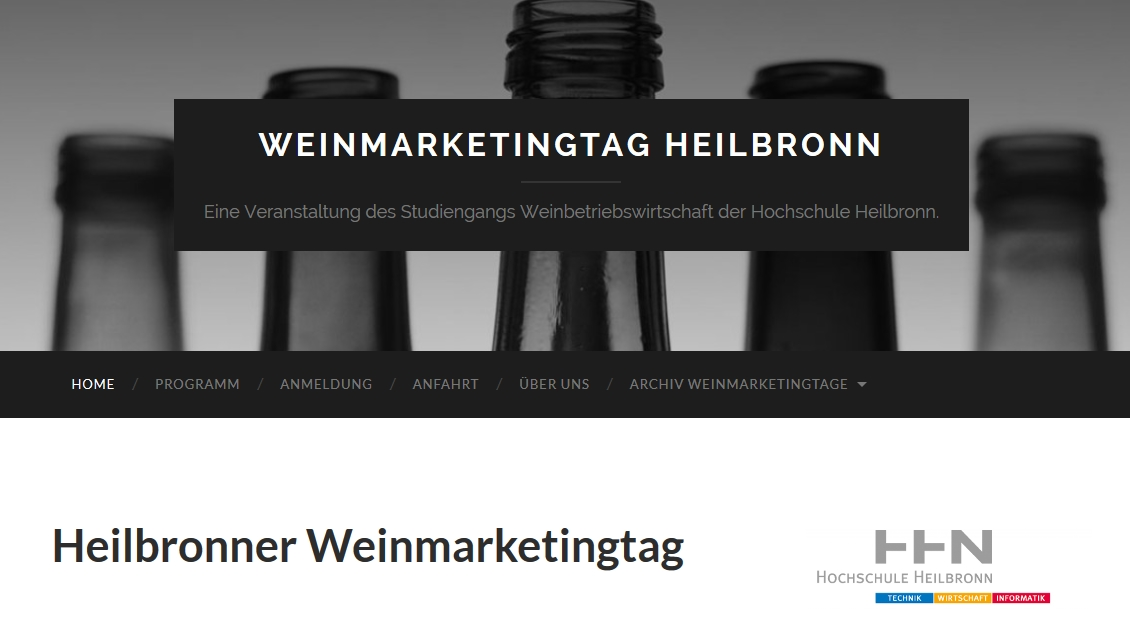 8. Weinmarketingtag Heilbronn am 28. April 2016